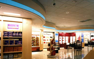 Duty Free Americas - Detroit Metro Airport - ASL Architects