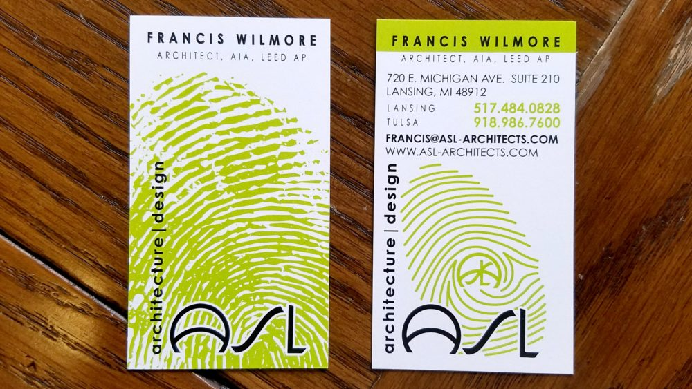 New Business Cards - ASL architecture | design